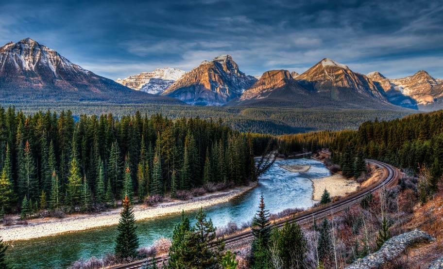 Kanada Bahnreisen, Zug Natur Kanada