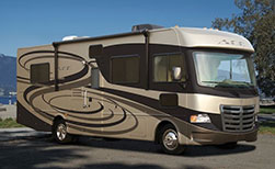 Kanada Luxus Motorhome gross