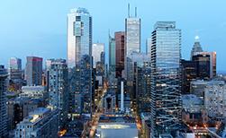 Kanada Urlaub Toronto Skyline