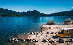 Kanada Wohnmobil Ferien See Berge