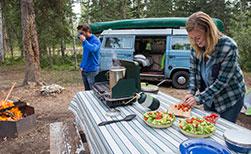 Wohnmobil Ferien Kanada Einkaufen Essen