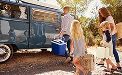 Wohnmobil Ferien weniger gepäck heisst mehr Platz